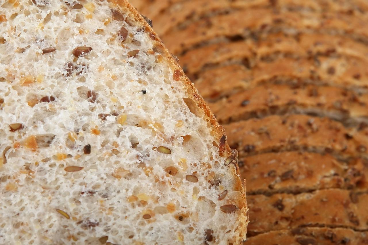 Celozrný chleba