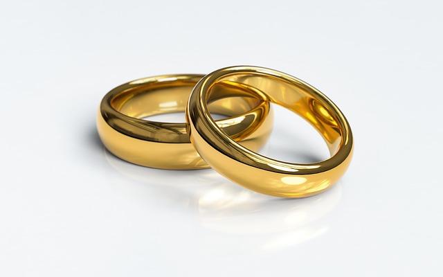 zlaté prsteny